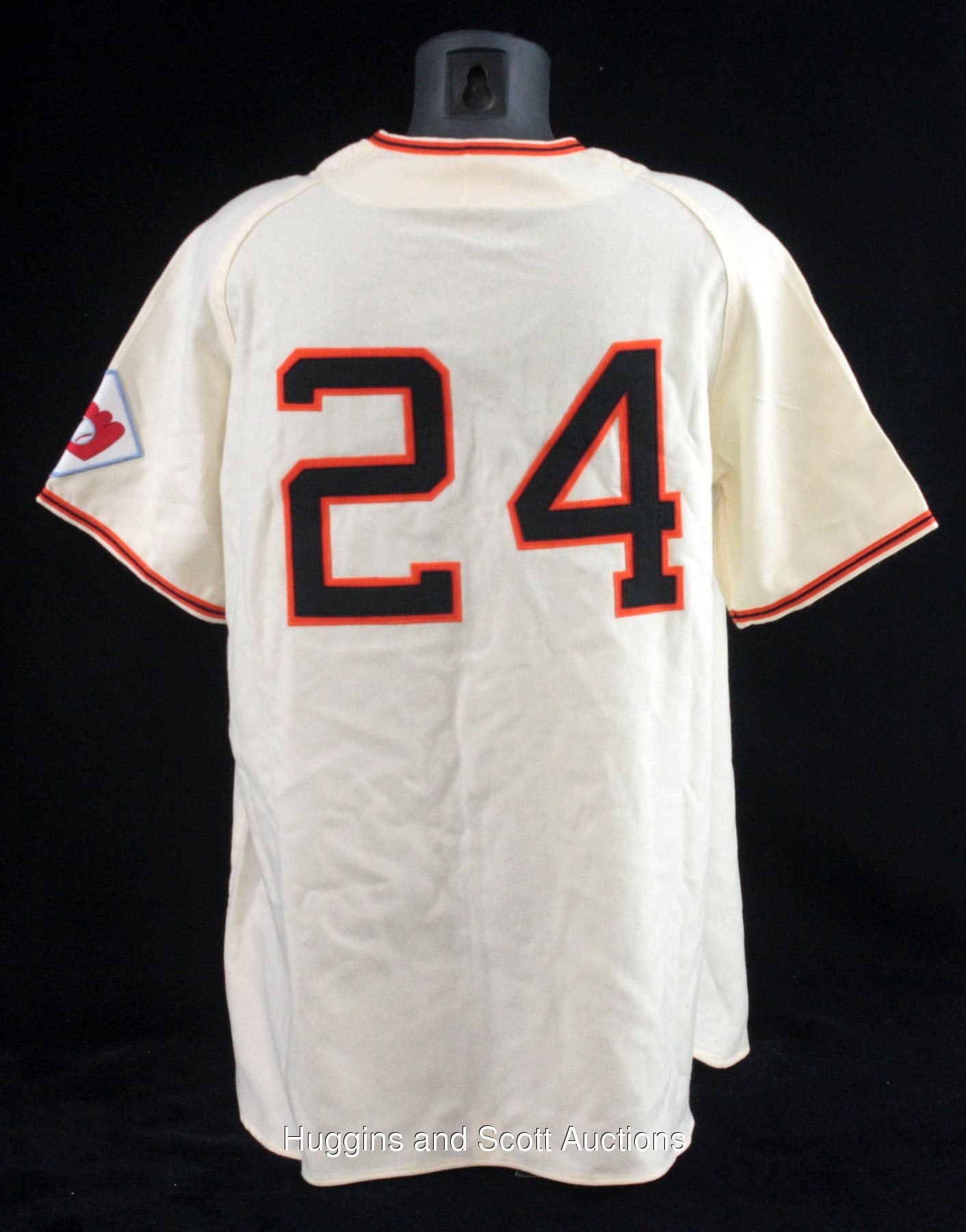 c6de8fc74 Willie Mays Autographed Mitchell & Ness 1951 New York Giants Jersey ...